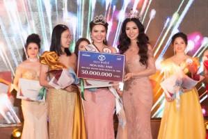 Á HẬU VÂN THANH RỰC RỠ TRONG ĐÊM CHUNG KẾT HOA HẬU DOANH NHÂN HOÀN CẦU - MALAYSIA 2019